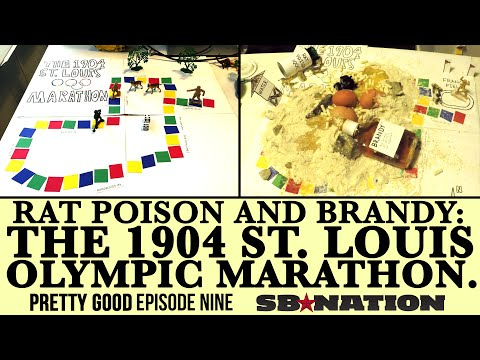 RAT POISON AND BRANDY: THE 1904 ST. LOUIS OLYMPIC MARATHON.