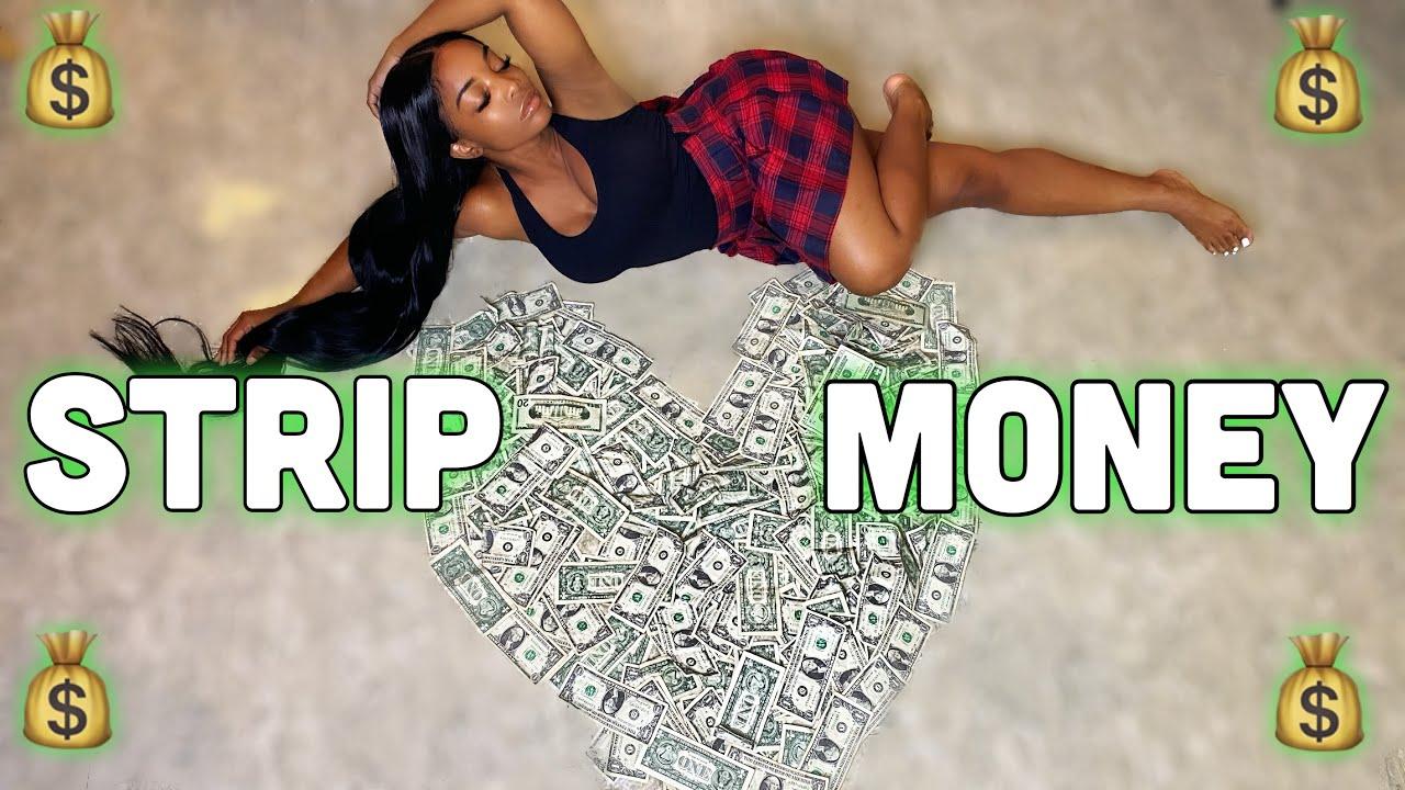 STRIP CLUB MONEY COUNT : I GOT HIRED + CLUB STORY TIME !   Tiffany B