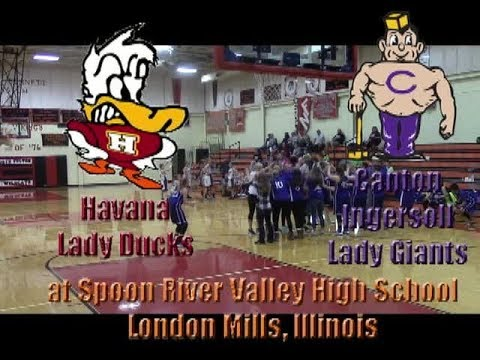 Canton Ingersoll Lady Giants vs Havana Lady Ducks 7FCGT 101817