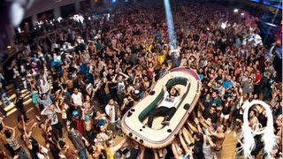 Download Steve Aoki Balcony Dive at Sold Out Palladium Show MP3 song and Music Video