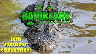 Gatorland Orlando's Gatorpalooza 70th Birthday Celebration!