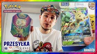 Hikomikos otwiera Karty Pokémon od LootQuest.pl [Leafeon GX Tin]