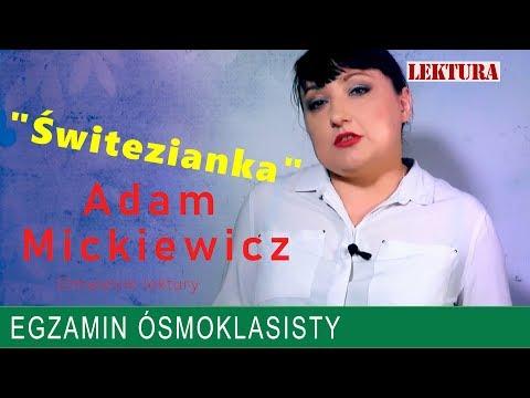 13 świtezianka Ballada Adama Mickiewicza Język Polski