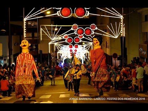 Marcha Luminosa em Lamego - Portugal 2016