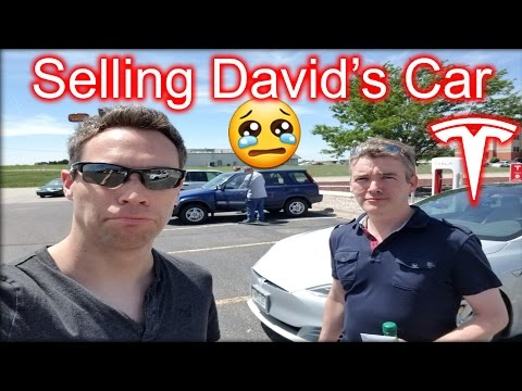 Selling David's Car & Getting Lost in Nebraska in the Tesla