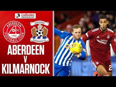Aberdeen 0-0 Kilmarnock | All Square Between The Dons and Killie | Ladbrokes Premiership