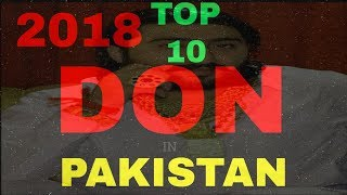 Top 10 DONS in pakistan 2018
