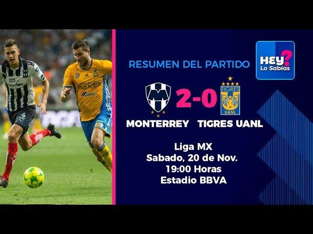Rayados Monterrey vs Tigres 2-0 RESUMEN Jornada 17 Apertura 2017 Liga MX