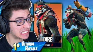 I RELEASED THE SKIN OF THE SUPREME AND GENERAL WEREWOLF RAN AWAY! Fortnite: Battle Royale