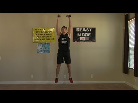60 Minute Workout at Home - Strength Training, Cardio Exercise, & Ab Exercises at Home Workouts