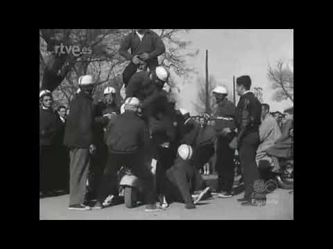 Pruebas motoristas en Valladolid 1959