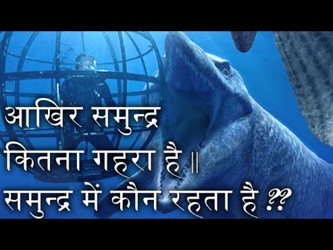 HOW DEEP IS OCEAN (HINDI) | समुन्द्र में कौन रहता है ??