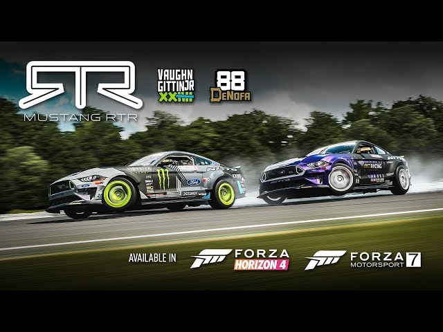 RTR Cars in Forza!