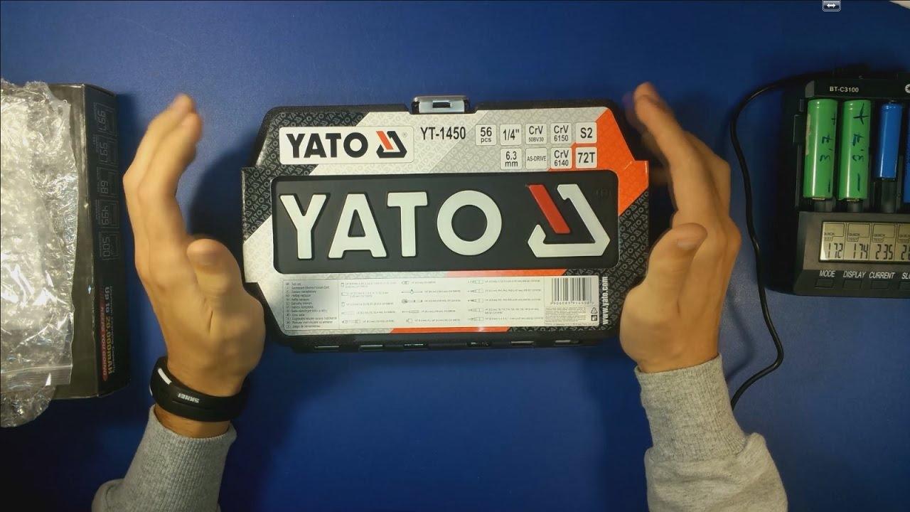 Набор инструментов Yato YT-12681 94pcs - YouTube