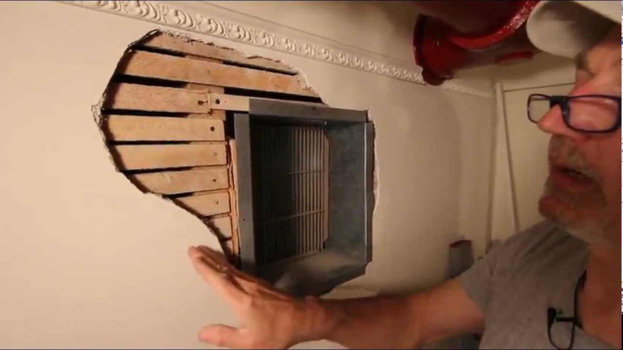 Restoring Original Plaster How To Repair Lath And Broken Plaster Youtube