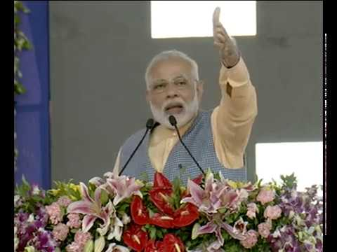 PM Modi speech in Ghogha, Gujarat at the inauguration of Ro-Ro ferry service & Cattle Feed Plant
