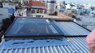 Giếng trời trên mái tôn - Lắp đặt giếng trời giá tốt - 0988.706.203