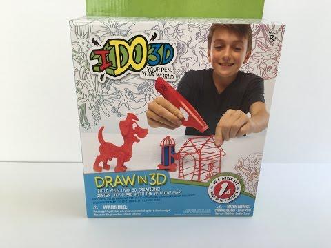 I Do 3D Draw In 3D Pen Kit