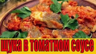 щука в томатном соусе.Как приготовить щуку