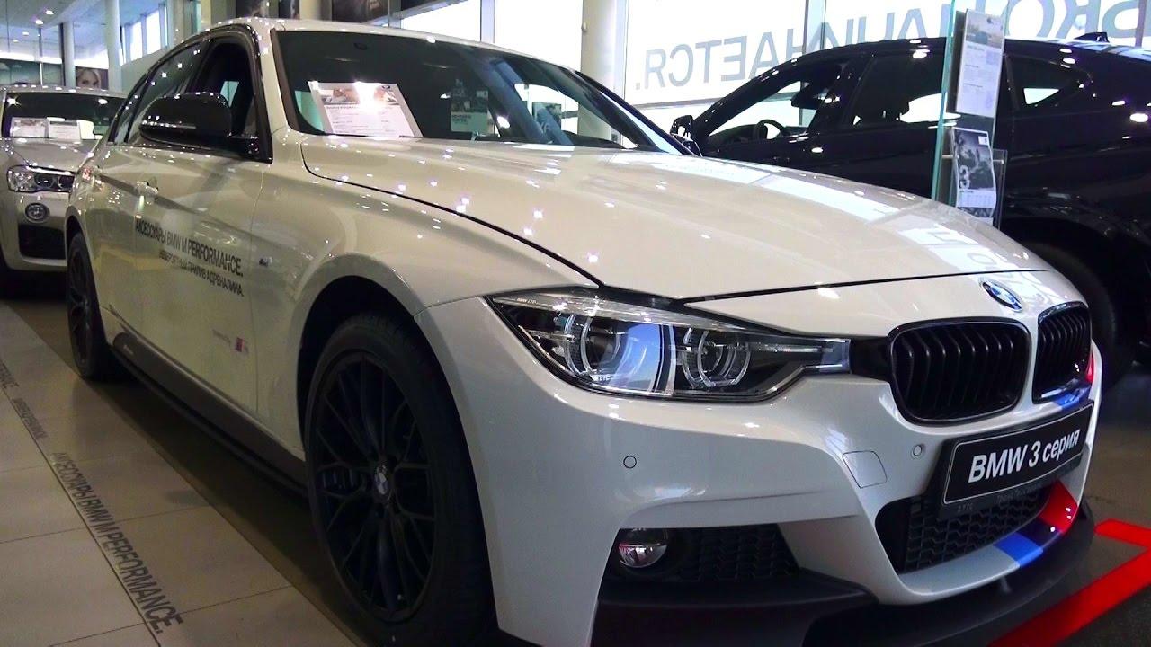 Bmw 320I 2016 >> 2016 BMW 320i xDrive (F30) M Sport. Обзор (интерьер ...