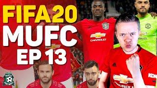 Fifa 20 Manchester United Career Mode! Goldbridge Episode 13
