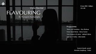 """Flavouring concert"" Viola Recital"