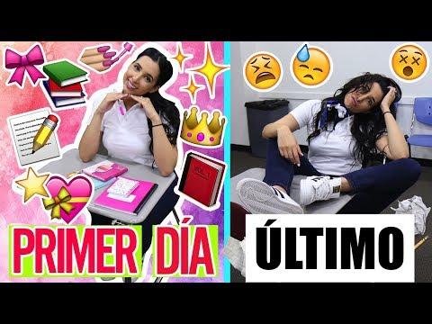 PRIMER DIA DE CLASES vs ULTIMO DIA DE CLASES   Mariale