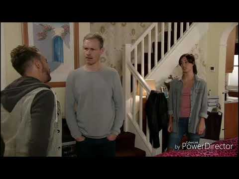 Coronation Street - Nick Reacts Over Learning David's Rape (26th October 2018)