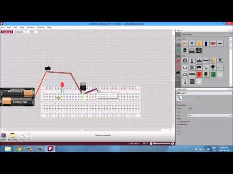 FRITZING TUTORIAL 01 - An Introduction to PCB design - YouTube