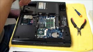 Dell Vostro 1510/1520/2510 AC DC Power Jack Repair/Replacement thumbnail