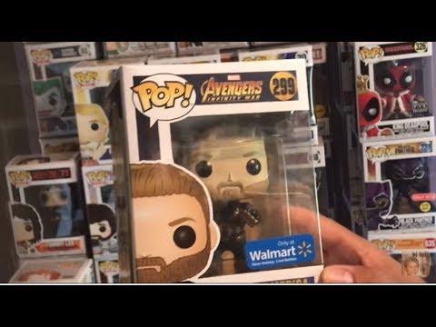 Funko Pop Marvel Avengers Captain America Infinity War Exclusive Wwe Unboxing Funkopop Giveaway