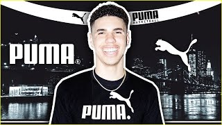 LAMELO BALL OFFICIALLY SIGNS $100M SNEAKER ENDORSEMENT WITH PUMA!