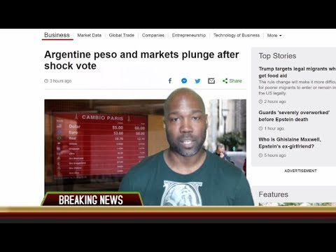 Argentine Peso & Markets Plunge But Gold, Silver & Bitcoin Skyrockets