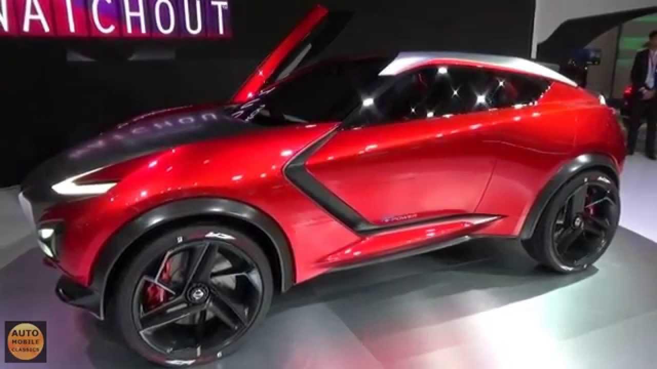 2016 Nissan Gripz Concept Exterior And Interior Iaa