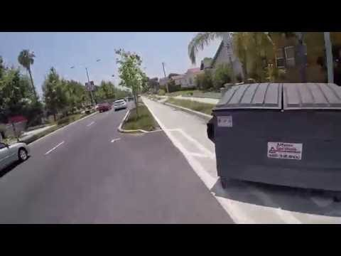 A Bike Ride on Rosemead Boulevard in Temple City, CA