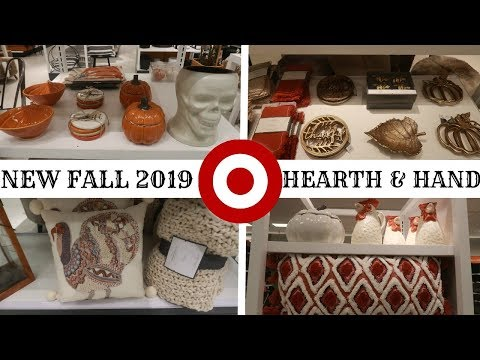 """""""NEW' TARGET HEARTH AND HAND FALL 2019 HOME DECOR / COME WITH  ME!!!"""