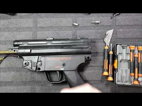 Tokyo Marui MP5 Hi Cycle rebuild & tune