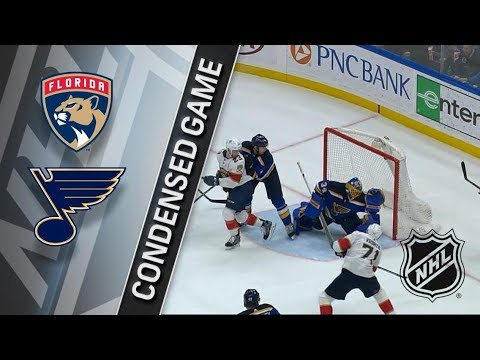 Florida Panthers vs St. Louis Blues – Jan. 09, 2018 | Game Highlights | NHL 2017/18. Обзор матча