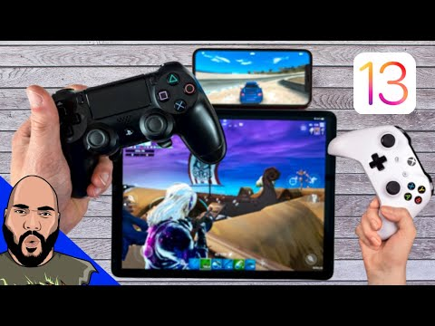 How To Pair PS4 And Xbox Controller To IPhone & IPad In IOS 13!