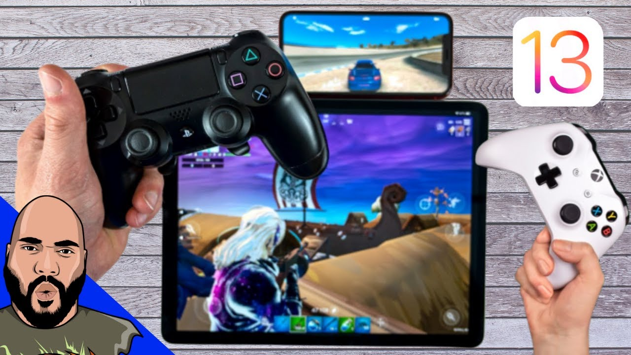 How To Pair Ps4 And Xbox Controller To Iphone Ipad In Ios 13 Youtube