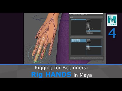 Rigging For Beginners: Rig Hands In Maya