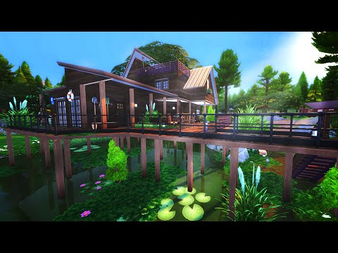 The Sims 4 Build | Swamp Cabin