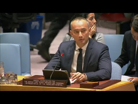 Briefing on the situation in the Middle East, including the Palestinian question - Security Council