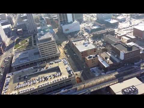 Fort wayne indiana quadra copter view