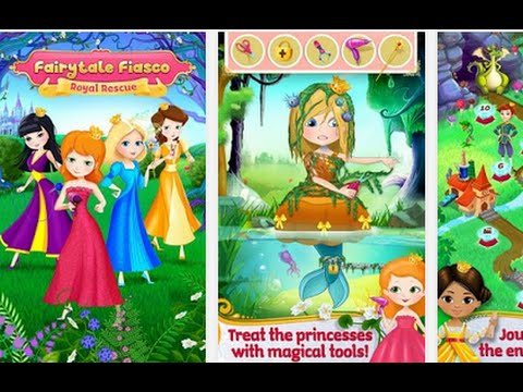 Fairytale Fiasco  Royal Rescue Android İos Tabtale Free Game GAMEPLAY VİDEO