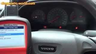Autel MD802 Clears a Volvo ABS Dash Lamp