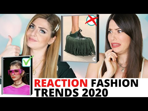 😱 SCANDALIZZATE! REACTION FASHION TRENDS 2020 con @Adriana Spink