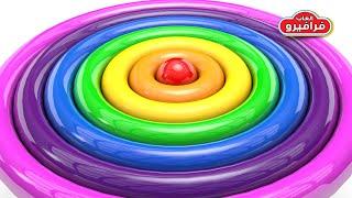 تعليم الاطفال الألوان الانجليزية - العاب اطفال تعليمية learn colors video for Kids