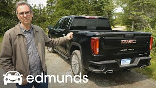 2019 GMC Sierra 1500 Denali or the New Silverado? | First Drive | Edmunds