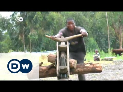 Meet the Chukudu: Congo's home-made scooter   Africa on the move